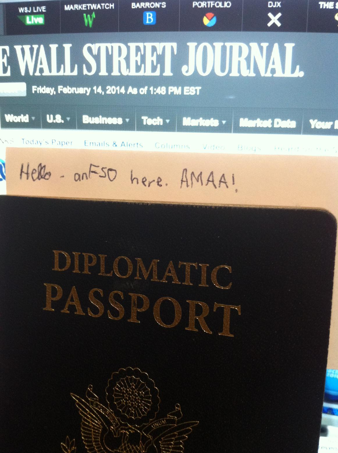 Iama United States Diplomat Anonymous Fso Gets On Reddit And He S A Riot Diplopundit